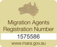 Sean He MARA registration number 1575586
